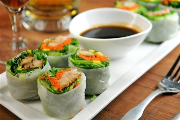 Thai Cold Rolls - Thai Chef Cuisine