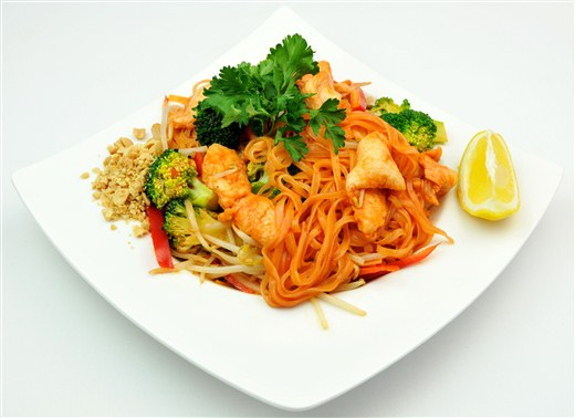 Pad Thai Chicken - MIO Japanese and Thai Fusion (Closed- currently Chinese Northern Flavour Restaurant)