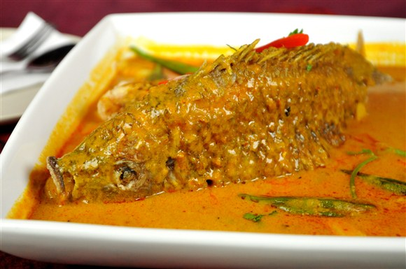 Assam Curry Whole Fish - Gourmet Malaysia