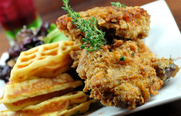 Southern-Fried Chicken and Waffle - Harlem