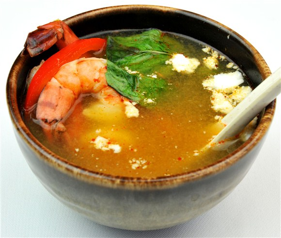 Tom Yam Coconut Soup - MIO Japanese and Thai Fusion (Closed- currently Chinese Northern Flavour Restaurant)