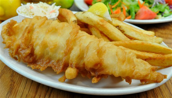 Halibut & Chips - Olde Yorke Fish and Chips