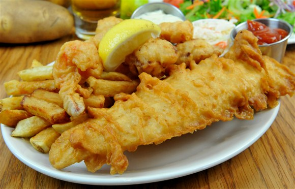 Haddock & Chips - Olde Yorke Fish and Chips