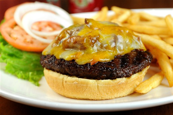 Turf 'N' Turf Burger - Gabby's