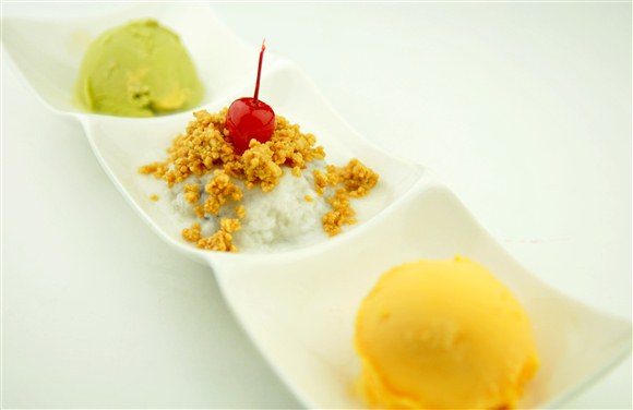 Coconut Sticky Rice - Dazzling Modern Restaurant