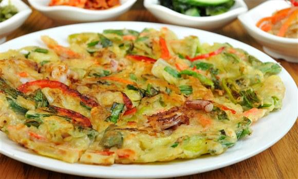 Seafood Pancakes - Seor Ak San