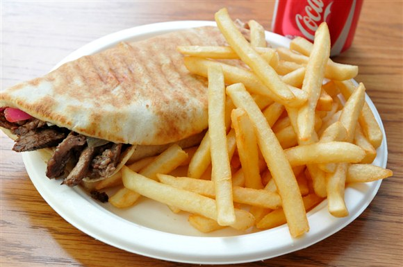 Beef Shawarma Combo - Shi Shawarma