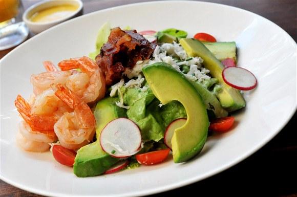 Dungeness Crab & Prawn Salad - Earls King Street
