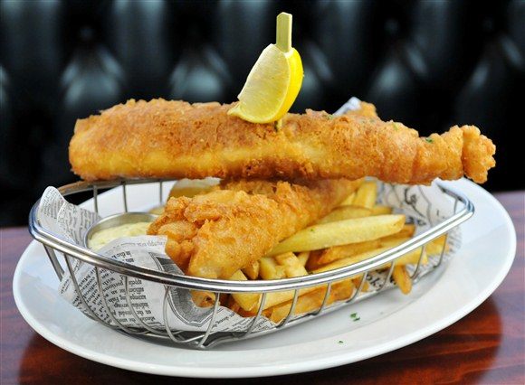 Fish & Chips - Thompson Diner