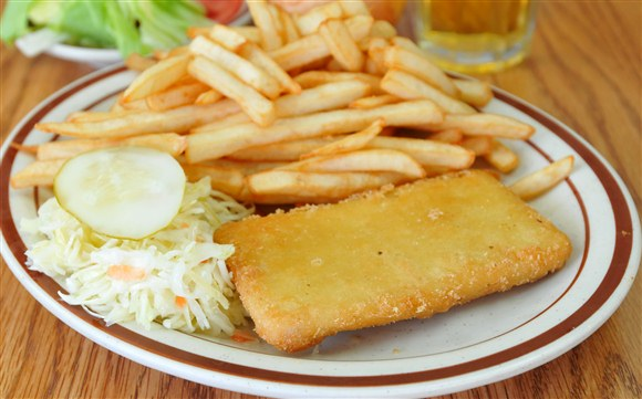 Fish & Chips - Vesta Lunch