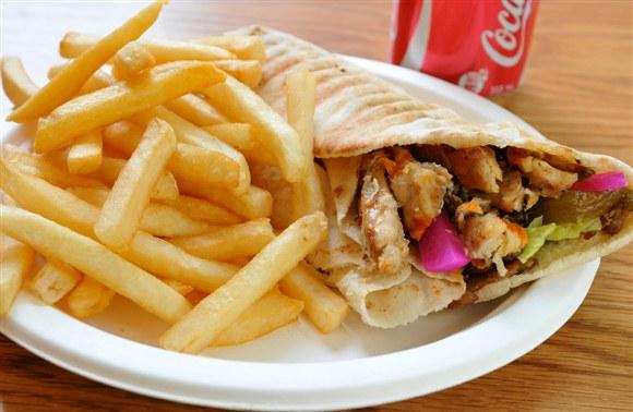 Chicken Shawarma Combo - Shi Shawarma