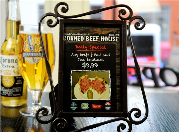 Daily Special - Corned Beef House