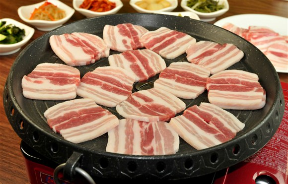 Korean Style Pork Bacon - Seor Ak San