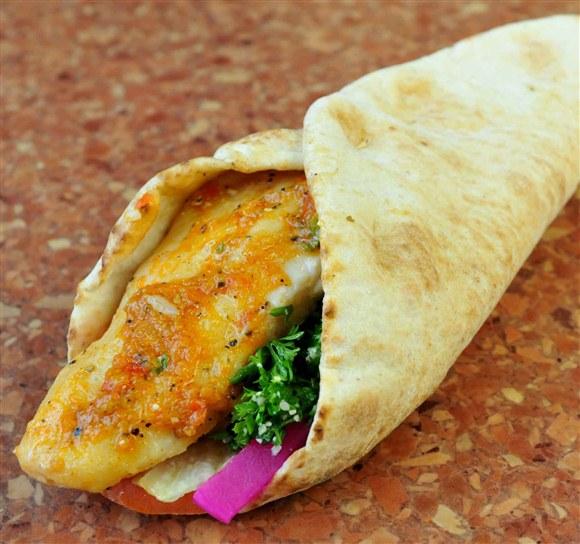 Fish Sandwich - Ali Baba's