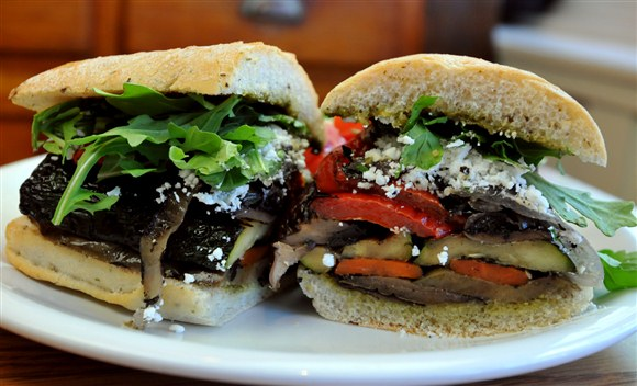 Grilled Vegetable Sandwich - Uncle Betty's Diner