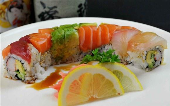 Rainbow Roll (8 pcs) - Oishi Kada