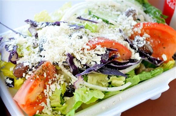 Greek Salad - The Prime Burger