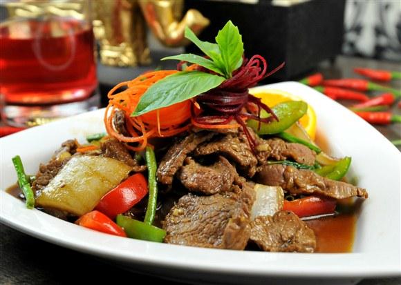 Basil Beef - Sit in Bangkok