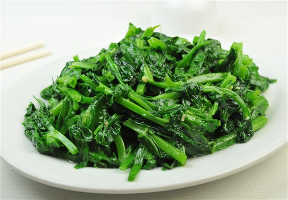 Sauteed Snow Pea Leaves - Wah Sing Seafood