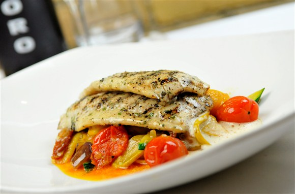 GRILLED RED SNAPPER - Oro