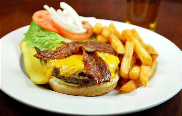 Deluxe Bacon Cheese Burger - Wheat Sheaf