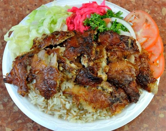 Chicken Shawarma Platter - Ali Baba's