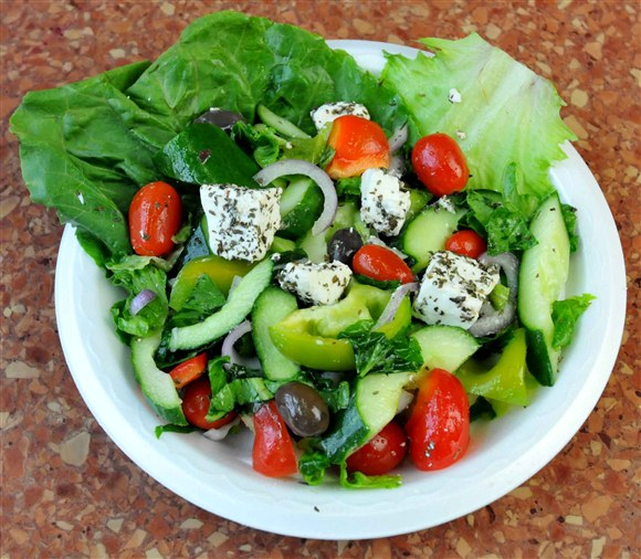 Large Greek Salad - Ali Baba's