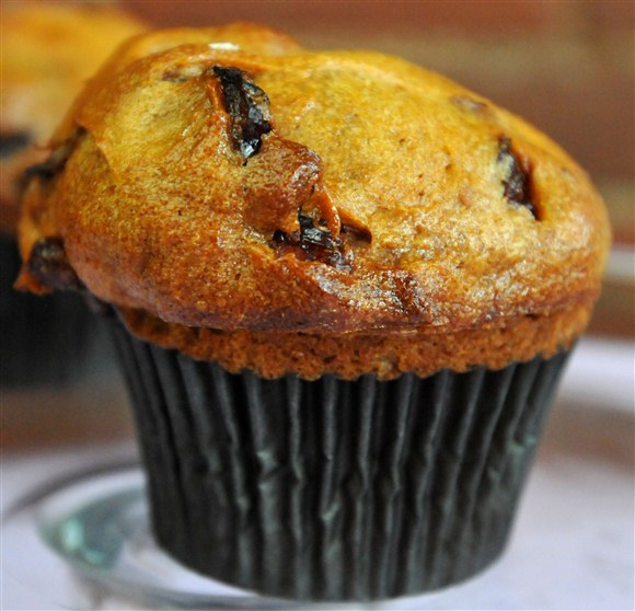 Sweet Potatoe Cranberry Muffin - Bunner's
