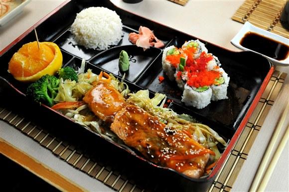 Salmon Teriyaki - Aki Da Sushi