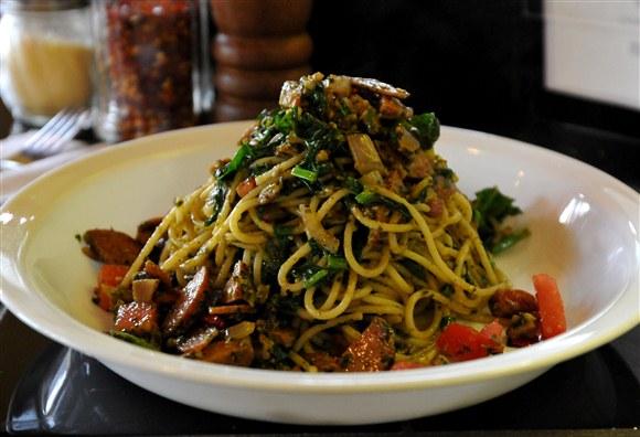 Mixed Veggie Pesto (Spaghetti) - Daddyo's Pasta