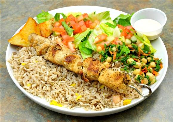 Souvlaki Plate - Marwan Shawarma