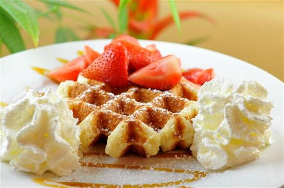 Strawberry Delight - Wanda's Belgian Waffles