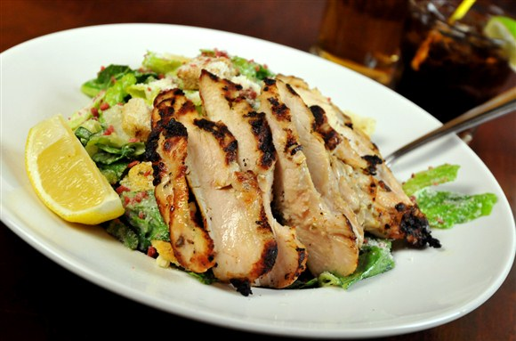 Grilled Chicken Caesar Salad - Wheat Sheaf
