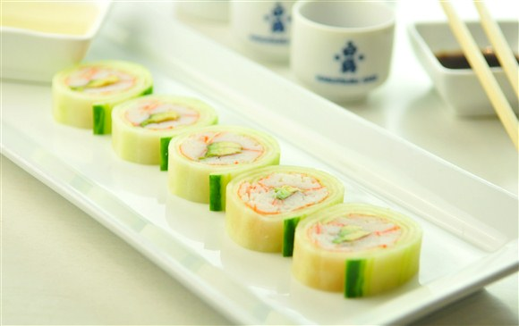 Cucumber Wrap (5 Pcs)   Gold Zen Japanese U0026 Asian Dining