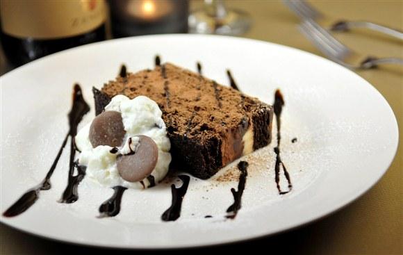 Chocolate Mousse Cake - Fusilli Ristorante
