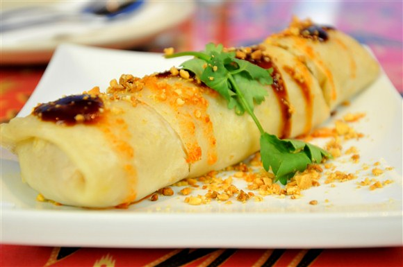 Poh Pia (Crepe Roll w/ Mixed Vegetable & Egg) - Gourmet Malaysia