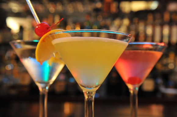 Appletini - Barberian's Steakhouse