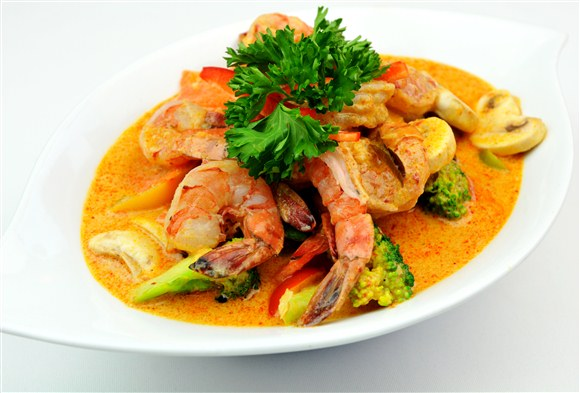 Thai Curry Seafood - MIO Japanese and Thai Fusion (Closed- currently Chinese Northern Flavour Restaurant)