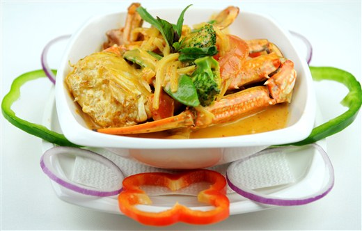 Crab Curry - Thai One On (THIS LOCATION IS CLOSED)