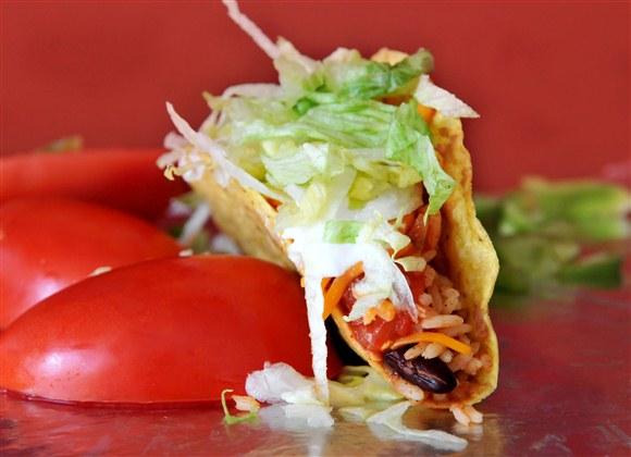 Veggie Taco - Big Fat Burrito