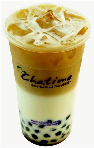TieGuanyin Tea Latte - Chatime Toronto