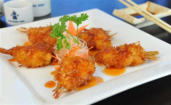 Coconut Shrimp - Sushi Fun