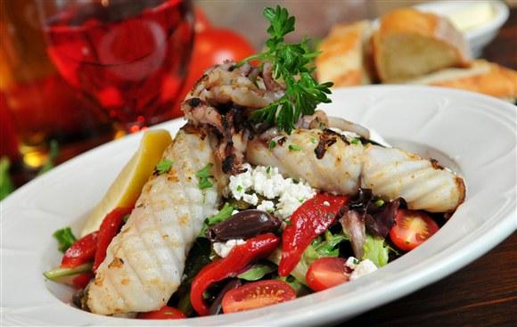 Grilled Calamari Salad - P.J. O'Brien