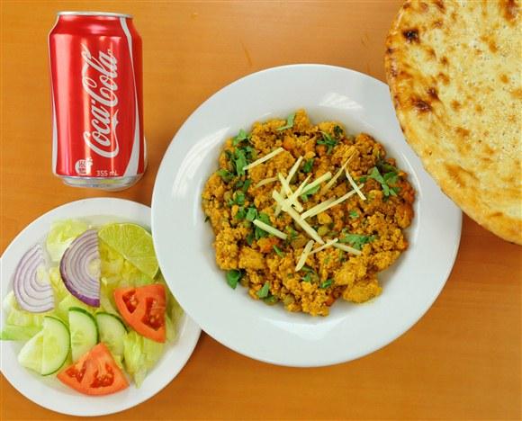 Keema & Naan Combo - Mehran Restaurant