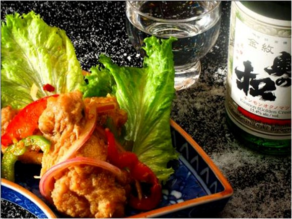 Japanese Style Vinaigrette Chicken Wings - TaKe Sushi