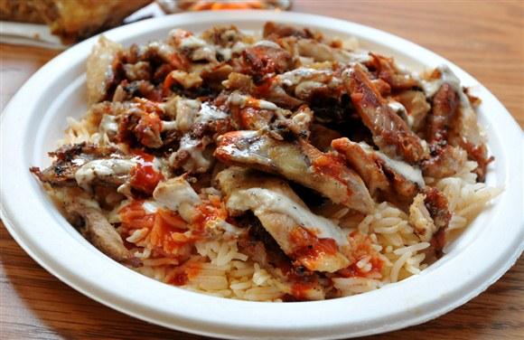 Chicken Shawarma Plate - Shi Shawarma