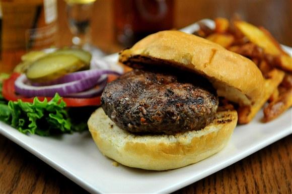The Burger - The Auld Spot Pub