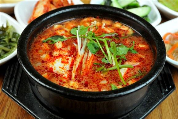 Beef Soondubu Chigae - Seor Ak San