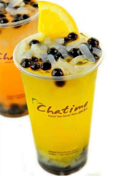 QQ Taiwan Mango Juice - Chatime Toronto