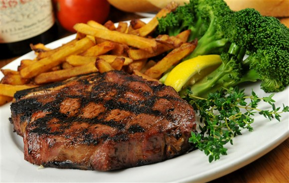 Rib Steak - Barberian's Steakhouse